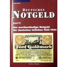 Gietl Deutsches Notgeld · Band 12: Das wertbeständige Notgeld der deutschen Inflation 1923/1924