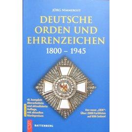 Battenberg Deutsche Orden und Ehrenzeichen 1800-1945