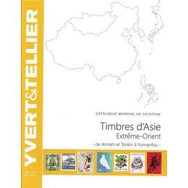 Yvert & Tellier Timbres d'Asie Extrême-Orient - de Annam et Tonkin à Yunnanfou