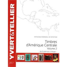 Yvert & Tellier Timbres d'Amerique Centrale 2 2017