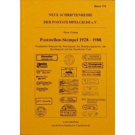 Poststempelgilde Poststellen-Stempel 1928-1988
