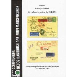 Neues Handbuch Die Luftpostzuschläge für Europa
