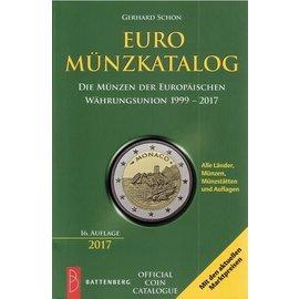 Battenberg Euro Münzkatalog - Die Münzen der Europäischen Währungsunion 1999-2016