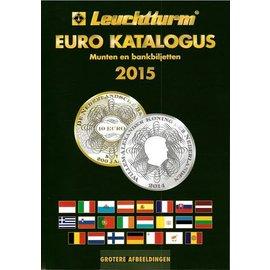 Leuchtturm Euro Katalogus Munten en bankbiljetten 2015