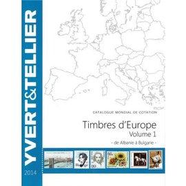 Yvert & Tellier Timbres d'Europe Volume 1-5