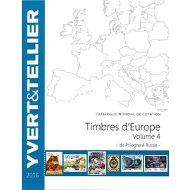 Yvert & Tellier Timbres d'Europe Volume 4 de Pologne à Russie