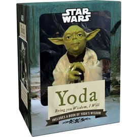 Chronicle Books Star Wars Yoda beeld en boek