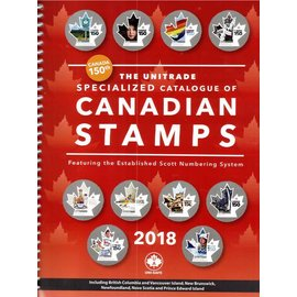 Unitrade The Unitrade Specialized Catalogue of Canadian Stamps edition 2018