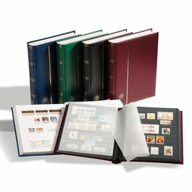 Leuchtturm stockbook Comfort S 32 red