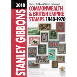Gibbons Commonwealth & British Empire Stamps 1840-1970 2018 edition