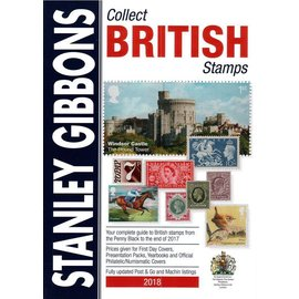 Gibbons Collect British Stamps 2018