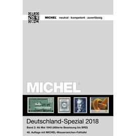 Michel Deutschland-Spezial 2018 Band 2: Ab Mai 1945 (Alliierte Besetzung bis BRD)