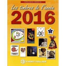 Yvert & Tellier Les timbres de l'année 2016