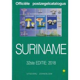 Zonnebloem Officiële postzegelcatalogus Suriname 2018