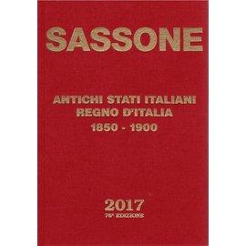 Sassone Antichi Stati Italiani Regno di Vittorio Emanuele II Regno d'Italia 1850-1900