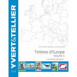 Yvert & Tellier Timbres d'Europe Volume 1 de Albanie à Bulgarie