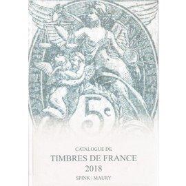 Spink Maury Catalogue de Timbres de France 2018