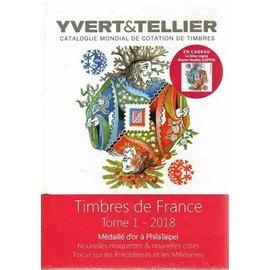 Yvert & Tellier Copy of Timbres de France 2017