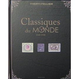Yvert & Tellier Classiques du monde 1840-1940