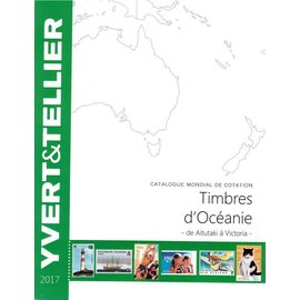 Yvert & Tellier Timbres d'Oceanie 2017