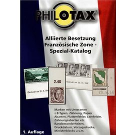 Philotax Alliierte Besetzung Französische Zone - Spezial-Katalog