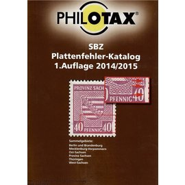 Philotax SBZ Plattenfehler-Katalog