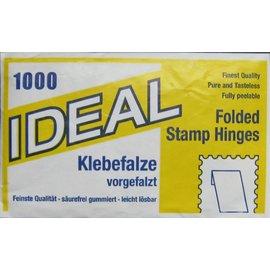 Ideal Klebefälze - 10 Packungen mit je 1000 Stück