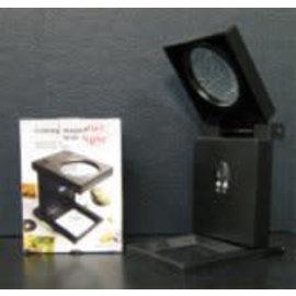 PZ Fadenzähler mit LED-Beleuchtung 5x vergrössernd