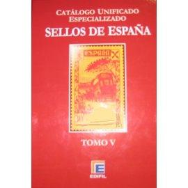Edifil Spanien Band 5 Barcelona und Ganzsachen