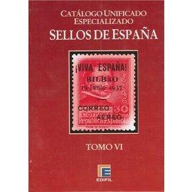 Edifil Spanien Band 6 Lokamarken & Bürgerkrieg