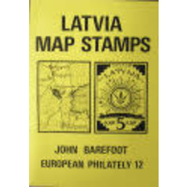 Barefoot Latvia Map Stamps