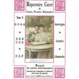 Carre Repertoire Carre de Cartes Postales Regionales