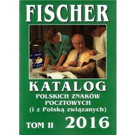 Fischer Katalog Polskich Znaków Pocztowych Tom II 2016