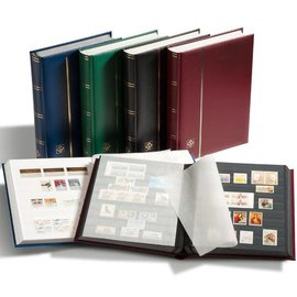 Leuchtturm Einsteckbuch Comfort W 32 blau