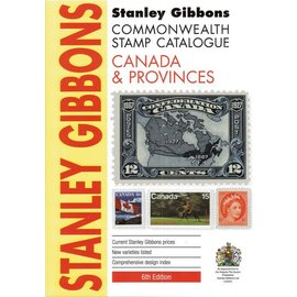 Gibbons Stamp Catalogue Canada & Provinces