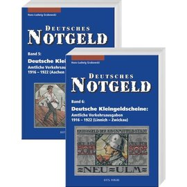 Gietl Deutsches Notgeld · Deutsche Kleingeldscheine Volume 5 & 6