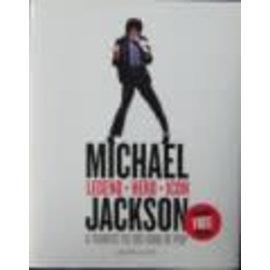 HarperCollins Michael Jackson · Legend · Hero · Icon