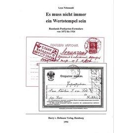 Hofmann Briefkaartformulieren Russland 1872-1926