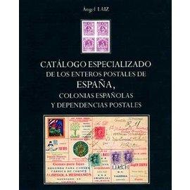 Laiz Catálogo especializado de los enteros postales de España, Colonia Españolas y dependencias postales