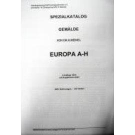 Meinel Spezialkatalog Handbuch - Gemälde Europa