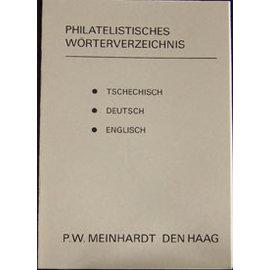 Meinhardt Filatelistisch Woordenboek Tsjechisch/Duits/Engels