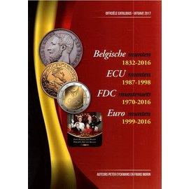 Morin Coins Belgie 1832-2016
