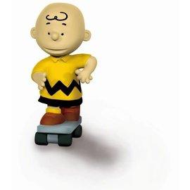 Schleich Peanuts - Charlie Brown on skate board