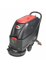 Viper AS5160 is een schrobzuigmachine met een vuilwatertank van 61 Liter. Met ingebouwde accu van 24 Volt.