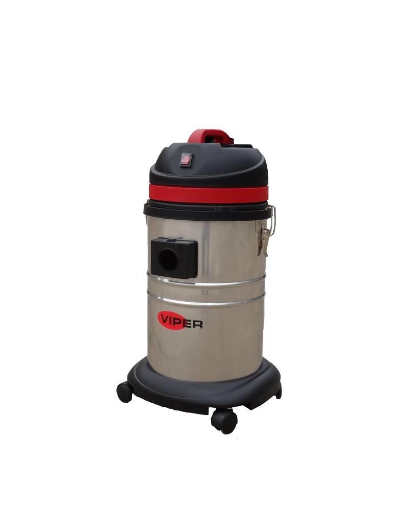 Viper Viper LSU P Professionele stofwaterzuiger 35 Liter . Met RVS container Gratis Thuis Geleverd