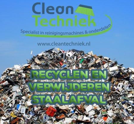 Metaal- en staalafval recyclen en verwijderen is duurzaam en veiliger
