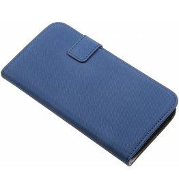 HTC One M8 MJoy Wallet Case Blue