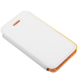 iPhone 4 / 4S Smart Smiley Book Case White