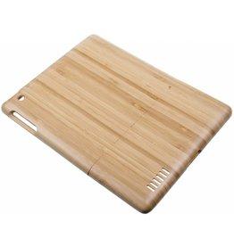 iPad 2 / 3 / 4 Wood Hard Case Light-Brown