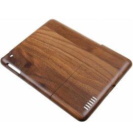 iPad 2 / 3 / 4 Wood Hard Case Dark-Brown